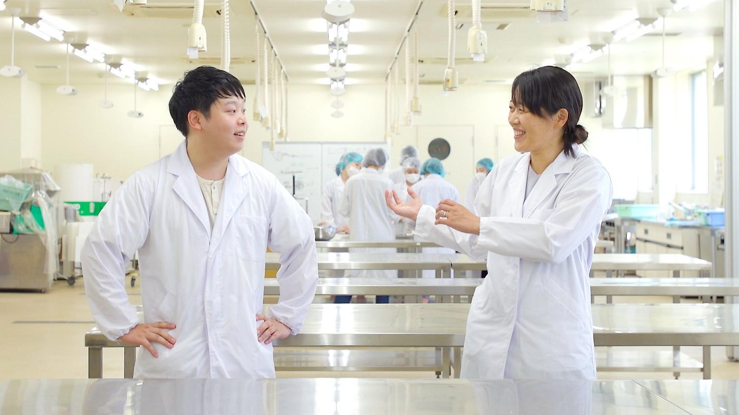 笹かまぼこ・ソーセージの作り方/太白キャンパス食品加工棟について